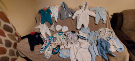 Tiny baby clothes bundle