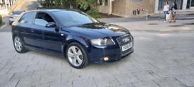 56 plate 2006 Audi A3 S-line 1.6 Petrol Ulez Free