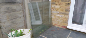 Garden Shed window single pane glass