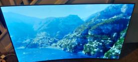 65 INCH LG CURVED OLED UHD 4K 3D HDR SMART TV