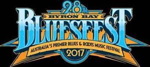 Byron Bay Bluesfest 2017  5 Day Adult Hard Copy Ticket East Brisbane Brisbane South East Preview