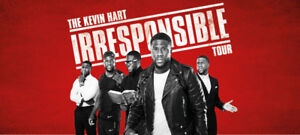 2 Kevin Hart tickets, Floor seats! Price for both.