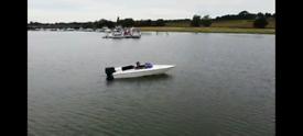 Speedboat 85hp with trailer