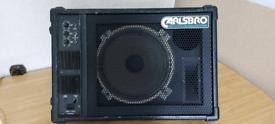 Fold back speaker