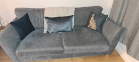 Sofology 4 seater sofa and snuggle chair