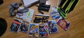 Nintendo Wii, black, big bundle