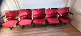 Vintage Cinema / Theatre seats