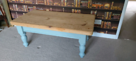 Stunning Fully Refurbished Very Solid farmhouse Pine Coffee Table