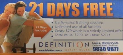 1 on 1 Personal Training (Blacktown area at gyms, parks or house) Blacktown Blacktown Area Preview