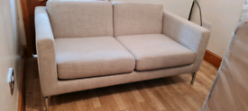 Designer 2 seater sofa. Was £700 now only £60.