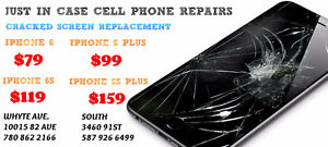 IPHONE 6 $79 6+ $99 6S $119 6S+ 159 CRACKED SCREEN REPAIR