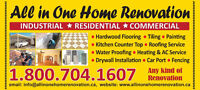 ALL IN ONE HOME RENOVATION