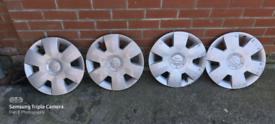 """Suzuki Swift 15"""" wheel trims x4"""