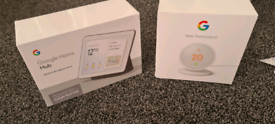 *Brand New* Google Home Hub and Nest Thermostat