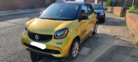 Smart forfour gold, 1 lady owner, tax exempt