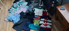 Kids various sizes clothes bundle