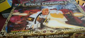 MB GAMES SPACE CRUSADER board game
