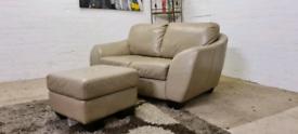 Italian Leather Sofa Set - Only £99!!