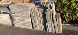 Used concrete slabs 3f×2f 90cmx60cm.