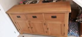 Oak large sideboard