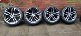BMW 3/4 series 19inch alloy wheels