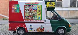 Ice cream van for sale £8000 ONO