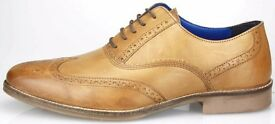 Real leather tan brogues RRP 89.99 selling end of line 29.00