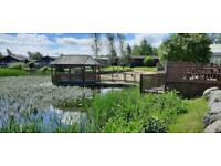 Holiday homes and static caravans for sale on a 5* park with fishing and beauty