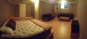 Fully furnished basement suite ready for occupancy January 22nd!