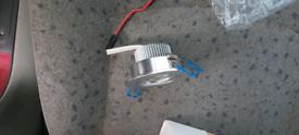 Job lot Spotlights including adjustable bulbs
