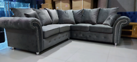 Grey 3&2 Seater or 5 Seater Corner Available New free local delivery