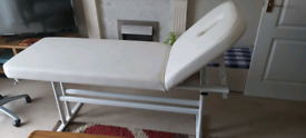 Massage Bed and Rolling Chair