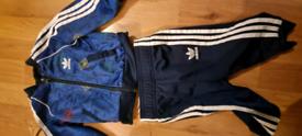 Baby Adidas originals tracksuits 6-9 months