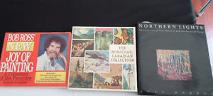 ART BOOKS, BOB ROSS JOY OF PAINTING, A COLLECTION OF