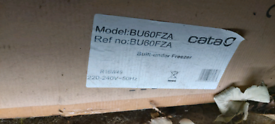 Integral under counter freezer. New in box