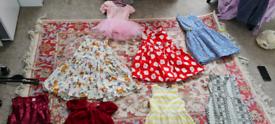 Girls bundle dresses for 4_7 years old, bargain,