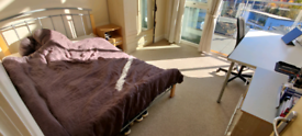 Amazing fully furnished room with great views in the city centre