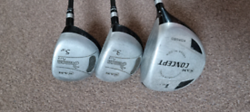 Ram driver & 3 & 5 Wood golf clubs