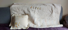 Mamas and papas blanket and pillow