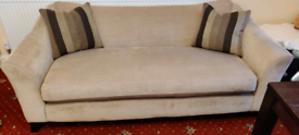 2Sofas of 3-Seater, + 1 Footstool, DFS