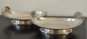 TIFFANY & CO STERLING SILVER SERVING DISHES