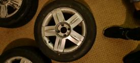 4X Renault Clio Mk2 Alloy Wheels