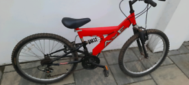 Boys mountain bike 24inch wheels