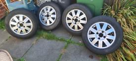 Set 4 ford fiesta ghia alloy wheels