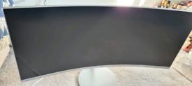 Samsung curve monitor Qled 34inch