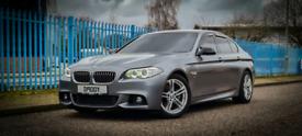 2014 BMW 520D M SPORT F10 LCI + AUTO + PRO NAV + FSH + EXCELLENT SPEC