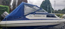 -Glastron Spirit v185 (18.5ft) Cuddy speed boat