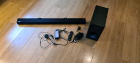 Samsung sound bar and subwoofer - only £65