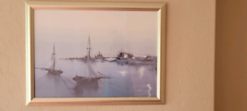 Bohem Painting with frame