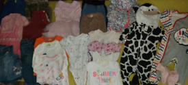 Girls clothes size 12-18 months